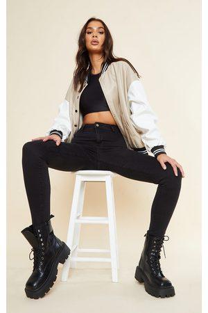 PRETTYLITTLETHING Women Skinny - Tall Super Stretch Skinny Jeans