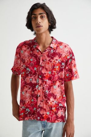 Raga Man Floral Dye Shirt