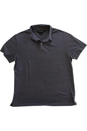 SHANGHAI TANG Linen polo shirt