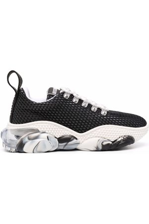 Moschino Women Sneakers - Teddy-sole low-top sneakers