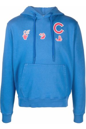 OFF-WHITE MLB Chicago cubs hoodie
