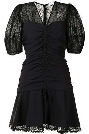JONATHAN SIMKHAI Lace-detail mini dress