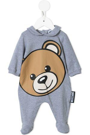 Moschino Pajamas - Toy Bear print pajama - Grey