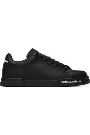 Dolce & Gabbana Men Sneakers - Black Portofino Sneakers
