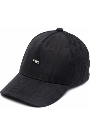 Emporio Armani Logo embroidered cap