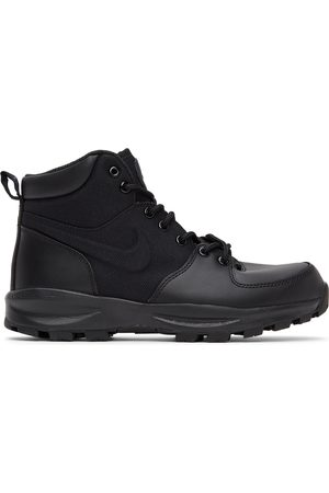 Nike Men Lace-up Boots - Black Manoa Lace-Up Boots