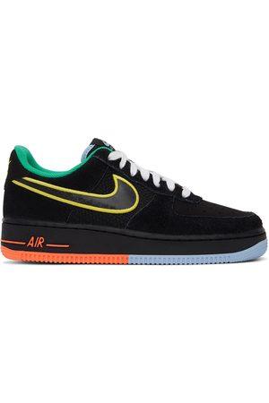 Nike Men Sneakers - Black Air Force 1 '07 LV8 Peace And Unity Sneakers