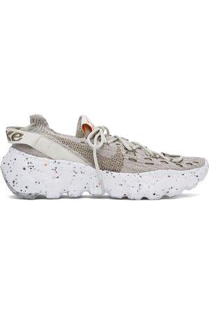 Nike Men Sneakers - Grey & White Space Hippie 04 Sneakers