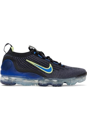 Nike Men Sneakers - Blue Air Vapormax 2021 FlyKnit Sneakers