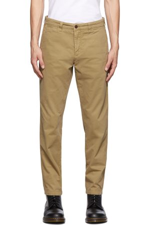 Belstaff Men Chinos - Tan Officers Chino Trousers