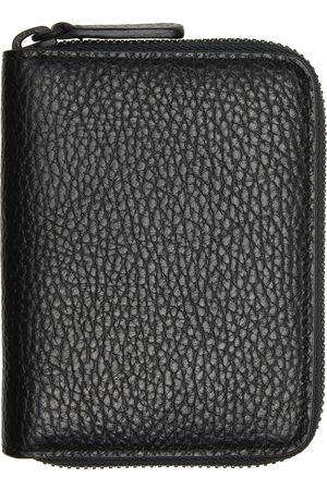 COMMON PROJECTS Black Grained Zip Coin Case Wallet