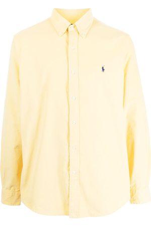Polo Ralph Lauren Men Long sleeves - Embroidered-motif long-sleeve shirt