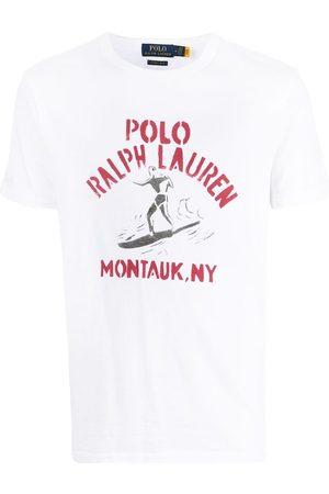 Polo Ralph Lauren Men Short Sleeve - Logo-print short-sleeve T-shirt