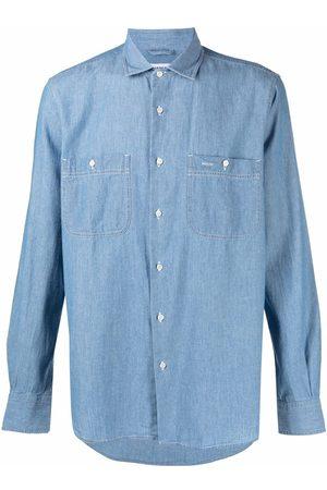 Aspesi Men Denim - Denim button-down shirt