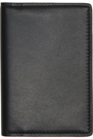 Common Projects Black Calfskin Folio Wallet