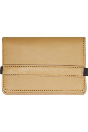 COMMON PROJECTS Tan Accordion Wallet