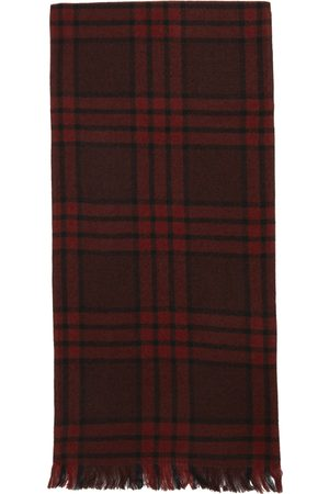 Uniforme Red Wool Double Side Scarf