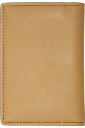 Common Projects Tan Folio Wallet