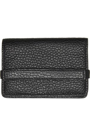 COMMON PROJECTS Black Grained Accordion Wallet