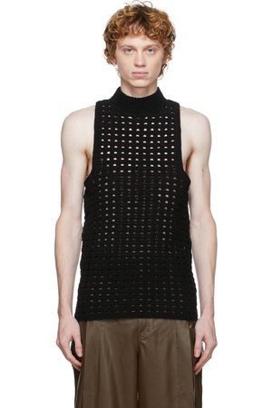 Situationist Knit Turtleneck Tank Top