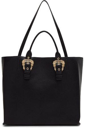 VERSACE Women Tote Bags - Black Buckle Tote Bag