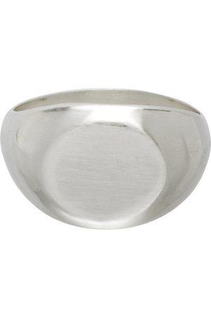 Jil Sander Men Rings - Silver Classic Chevalier Ring