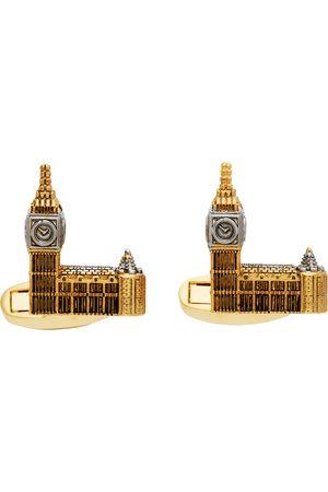 Paul Smith Gold 'London Souvenir' Cufflinks