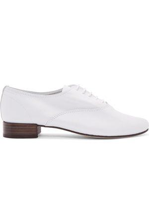 Repetto Women Formal Shoes - White Zizi Oxfords
