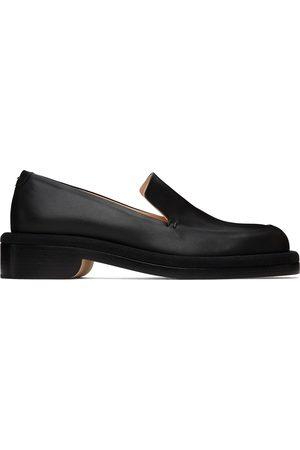 Nicholas Kirkwood Black Leather JJ Loafers