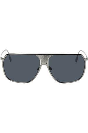Burberry Women Aviators - Engraved Aviator Sunglasses