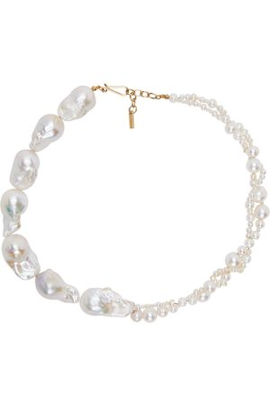 Completedworks Gold Freshwater Pearls Necklace