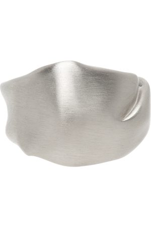 Completedworks Men Rings - Silver 'The Best Place To Be A Puffin' Ring