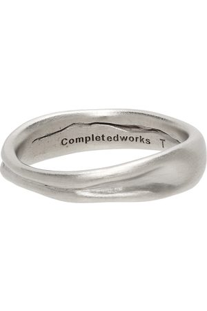 Completedworks Men Rings - Silver Deflated Do Not Inflate Ring