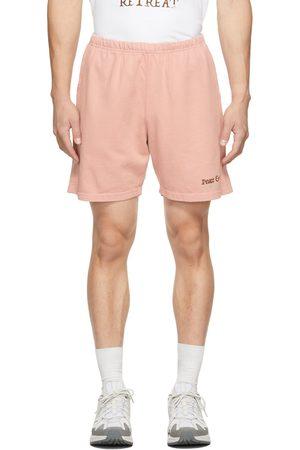 Museum Of Peace & Quiet Men Shorts - Pink 'Resort & Spa' Shorts