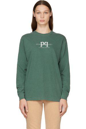 Museum Of Peace & Quiet Women Long Sleeve - Green PQ Leisure Long Sleeve T-Shirt