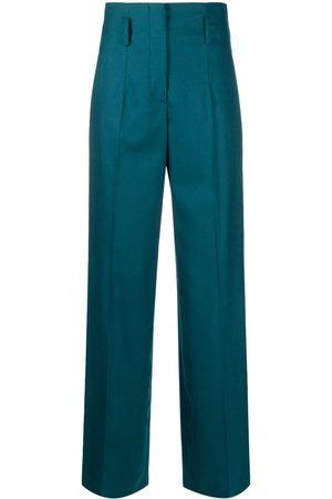 Alberta Ferretti Women Straight Leg Pants - High-waisted straight-leg trousers