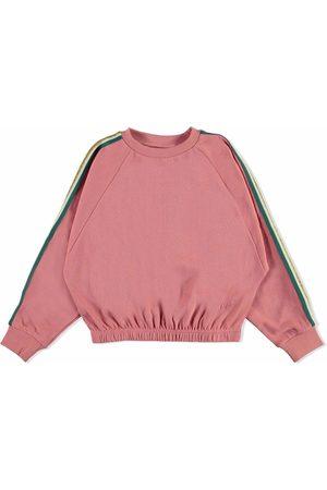 Molo Side stripe organic cotton sweatshirt