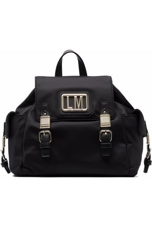 Love Moschino Women Rucksacks - Patch-embellished backpack