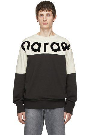 Isabel Marant Grey & Off-White Howley Sweatshirt