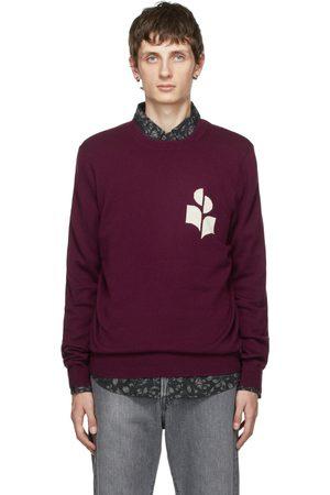 Isabel Marant Men Sweatshirts - Burgundy Evans Sweater