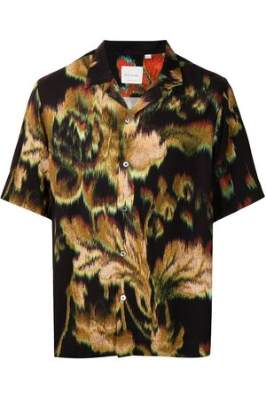 Paul Smith Floral-print short-sleeved shirt