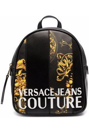 VERSACE Women Rucksacks - Barocco-print backpack