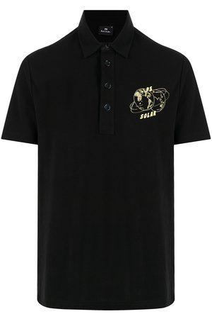 Paul Smith Men Polo Shirts - Solar organic cotton polo shirt