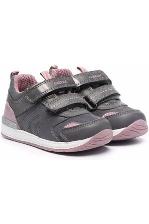 Geox Double touch-strap sneakers - Grey