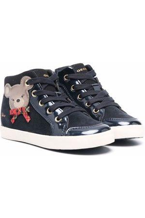 Geox Sneakers - Teddy print sneakers