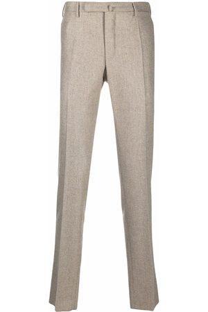 Incotex Men Formal Pants - Slim-cut tailored trousers - Neutrals