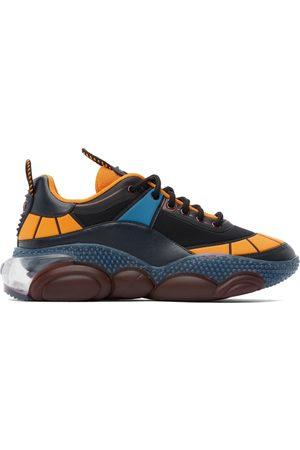 Moschino Black & Orange Bubble Teddy Sneakers
