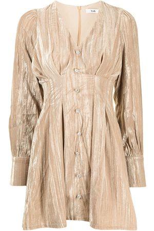B+AB Textured velvet dress