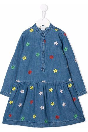 Stella McCartney Embroidered floral midi dress