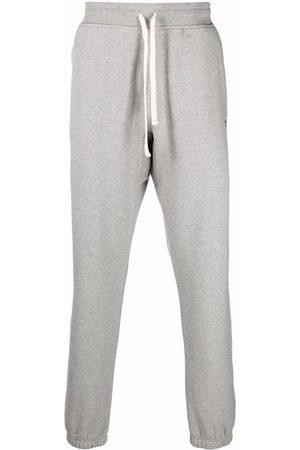 Woolrich Men Sweatpants - Tapered-leg track pants - Grey
